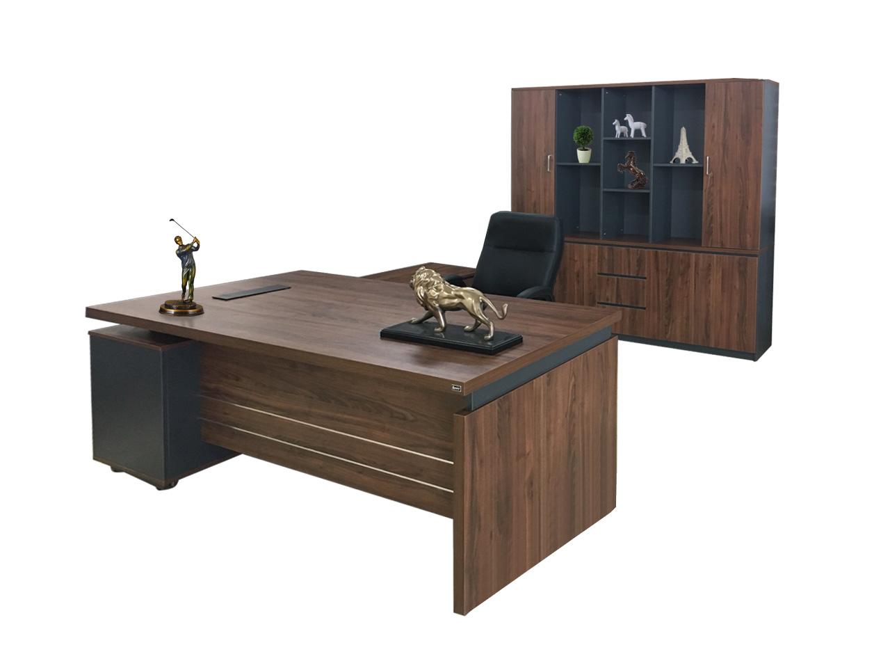 Mẫu bàn làm việc giám đốc LUXB1818V3
