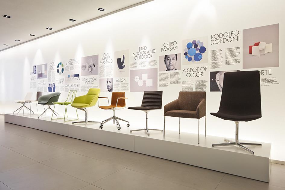 Tham khảo cách bày trí nội thất văn phòng công ty Arper tại Tokyo