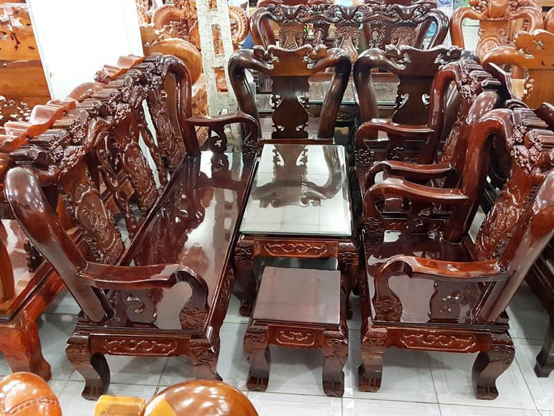 bàn ghế gỗ tràm
