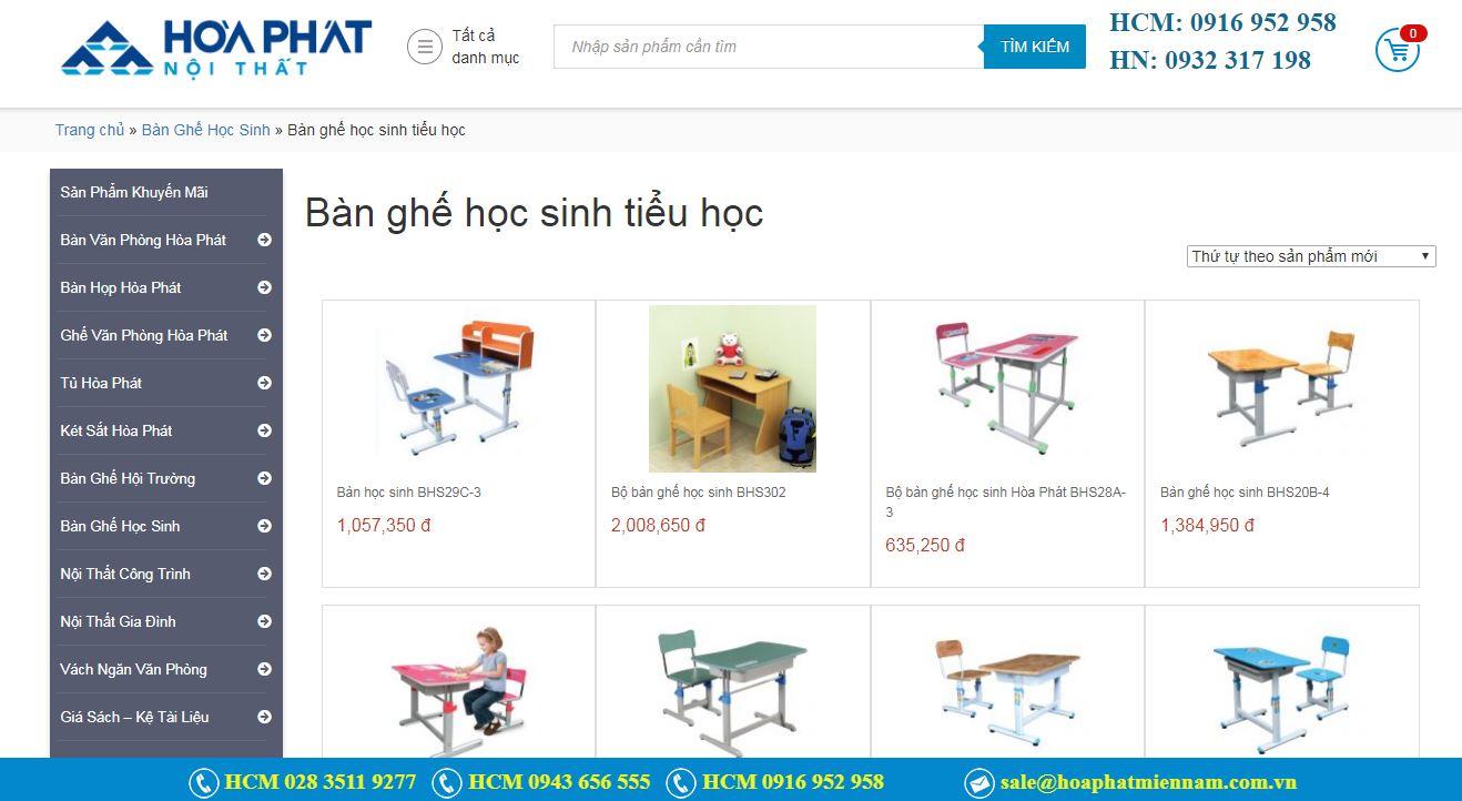 chọn mua bàn học sinh