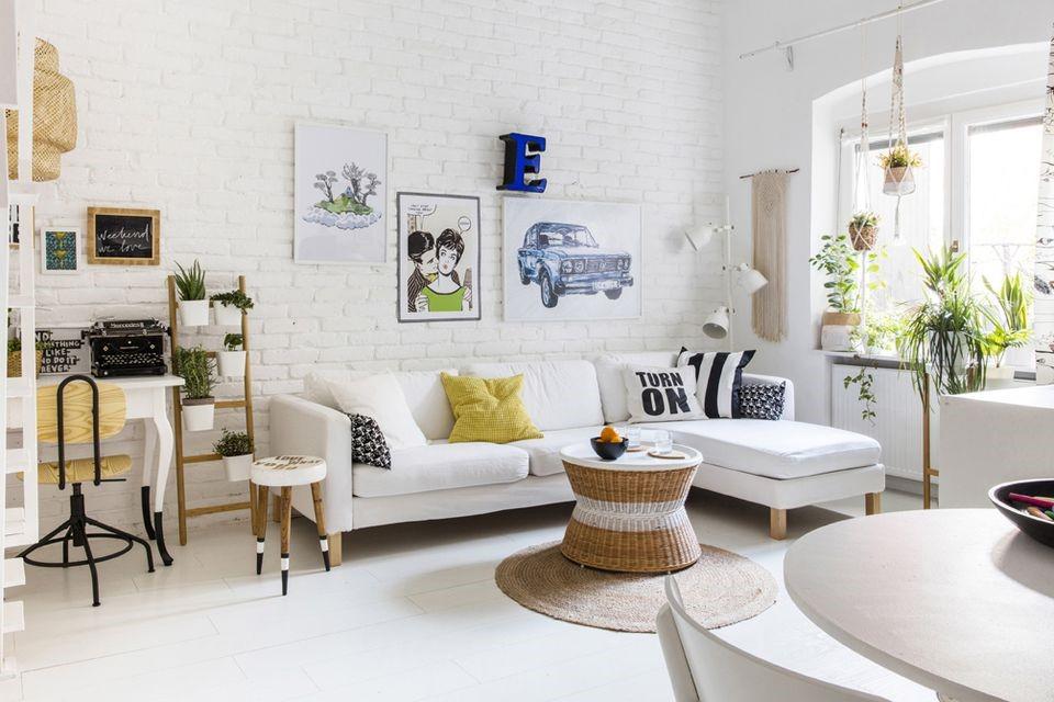 Sofa và bàn trà là hai món nội thất phải đi liền với nhau.
