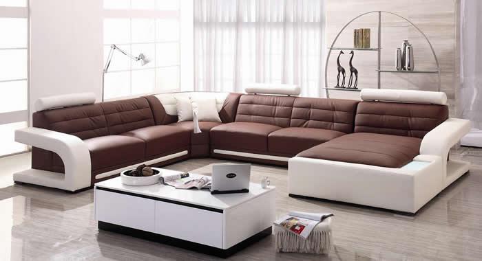 Nên chọn bộ sofa và bàn cà phê có tổng cộng 6 hoặc 9 món.
