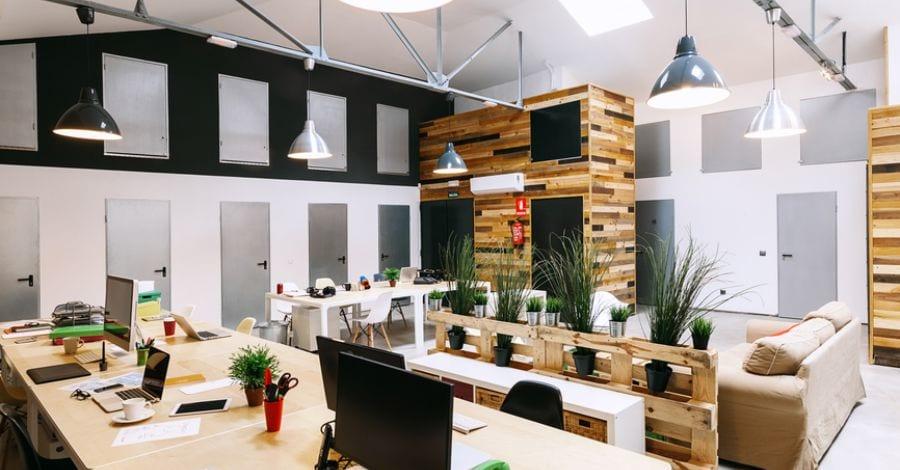Thiết kế văn phòng theo hướng ngoại, hòa quyện với thiên nhiên.