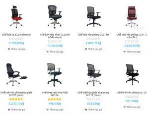 ghế lưới ngồi làm việc có tốt cho sức khỏe