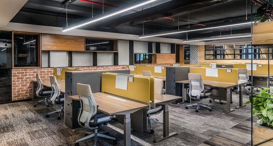 Thiết kế văn phòng làm việc diện tích nhỏ với 24m2