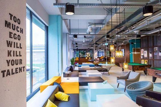 Thiết kế văn phòng đẹp Hà Nội với nội thất hiện đại