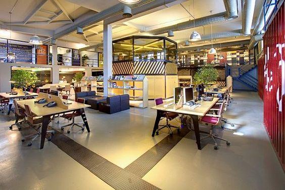 Thiết kế văn phòng theo mô hình mở