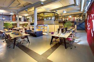 ý tưởng thiết kế văn phòng hiện đại