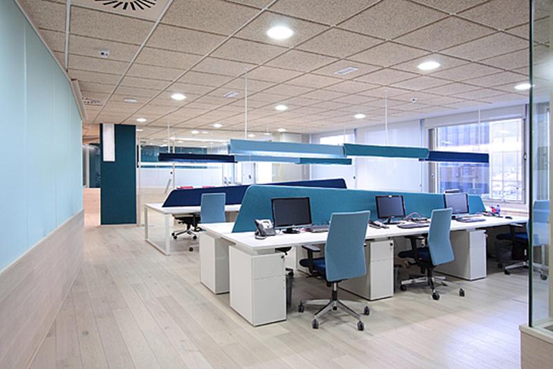 Thiết kế văn phòng diện tích lớn