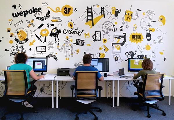 Thiết kế văn phòng sáng tạo