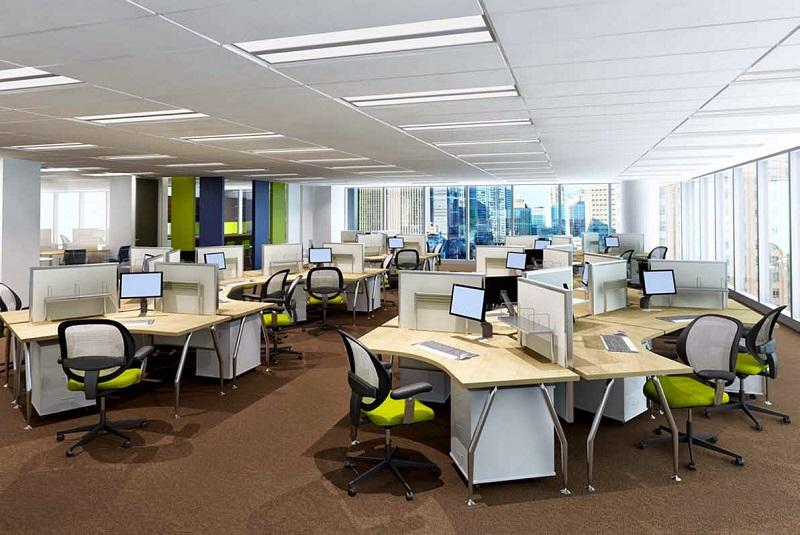 Thiết kế văn phòng đẹp Hà Nội
