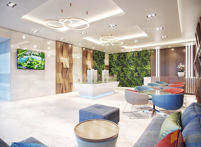 Gọn gàng, nội thất sang trọng càng tôn lên vẻ đẹp của công ty.