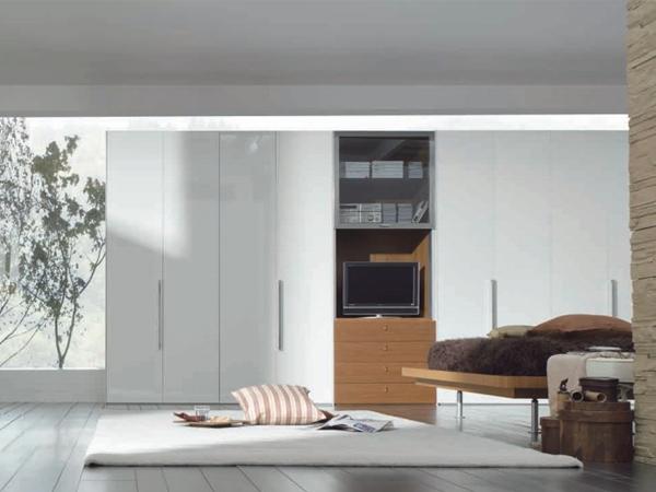 nội thất tủ âm tường