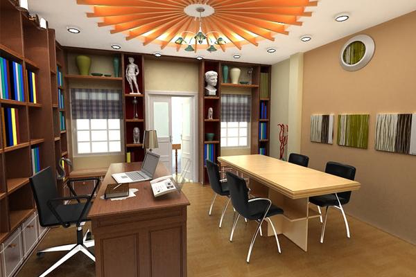 nội thất văn phòng công ty nhỏ