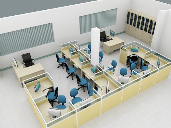 thiết kê nội thất văn phòng chung cư