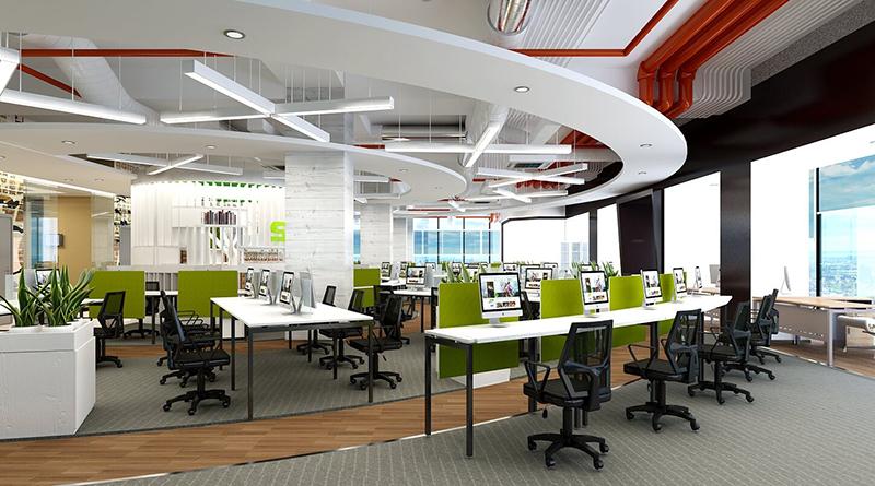 5 lời khuyên hữu ích cho thiết kế nội thất văn phòng