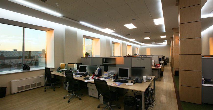 Những mẫu thiết kế văn phòng 1