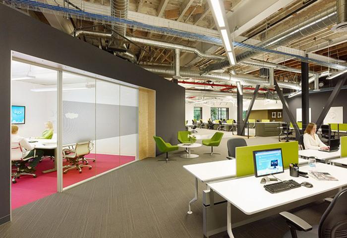 Những mẫu thiết kế văn phòng