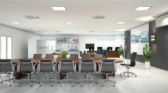 Văn phòng hiện đại với những mẫu bàn ghế Hòa Phát