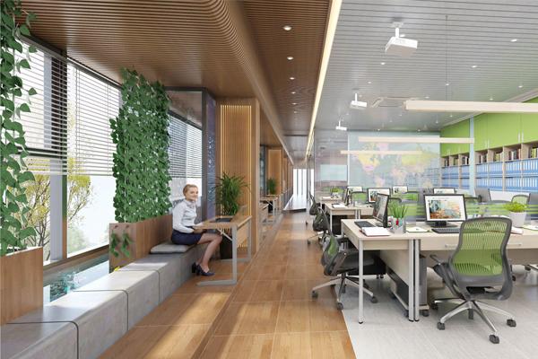 tiêu chuẩn thiết kế văn phòng