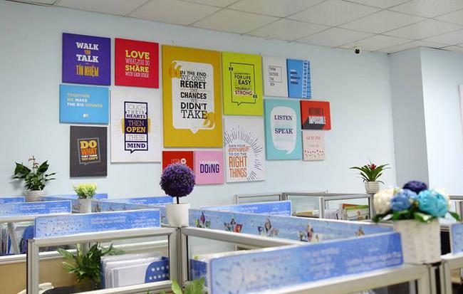 Thiết kế nội thất văn phòng năng động, sáng tạo
