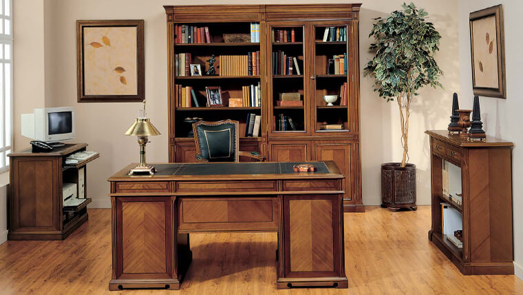 trang trí nội thất văn phòng phong cách tân cỗ điển