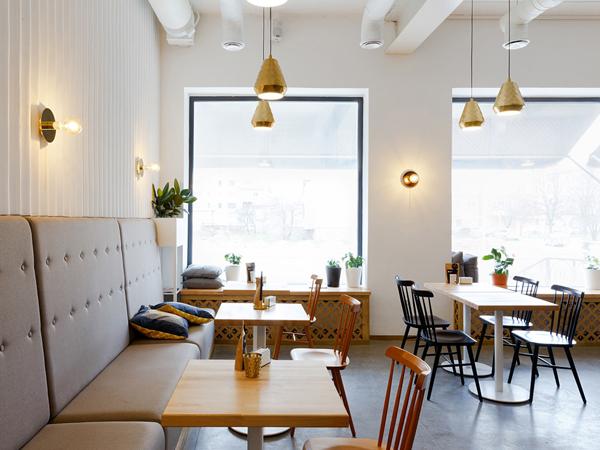bàn ghế đẹp cho quán trà sữa
