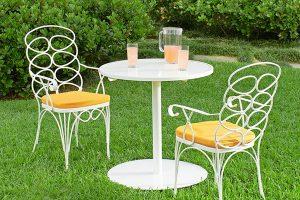 mẫu bàn ghế bằng sắt