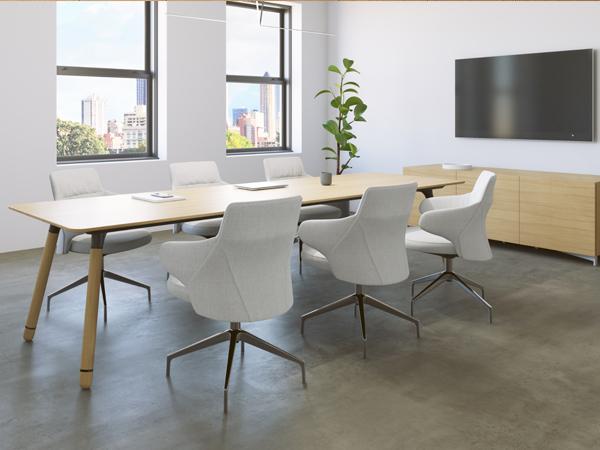 Mẫu bàn ghế công sở