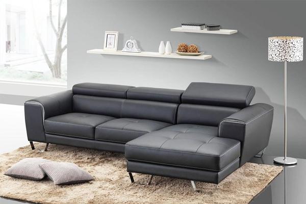 mẫu bàn ghế da phòng khách