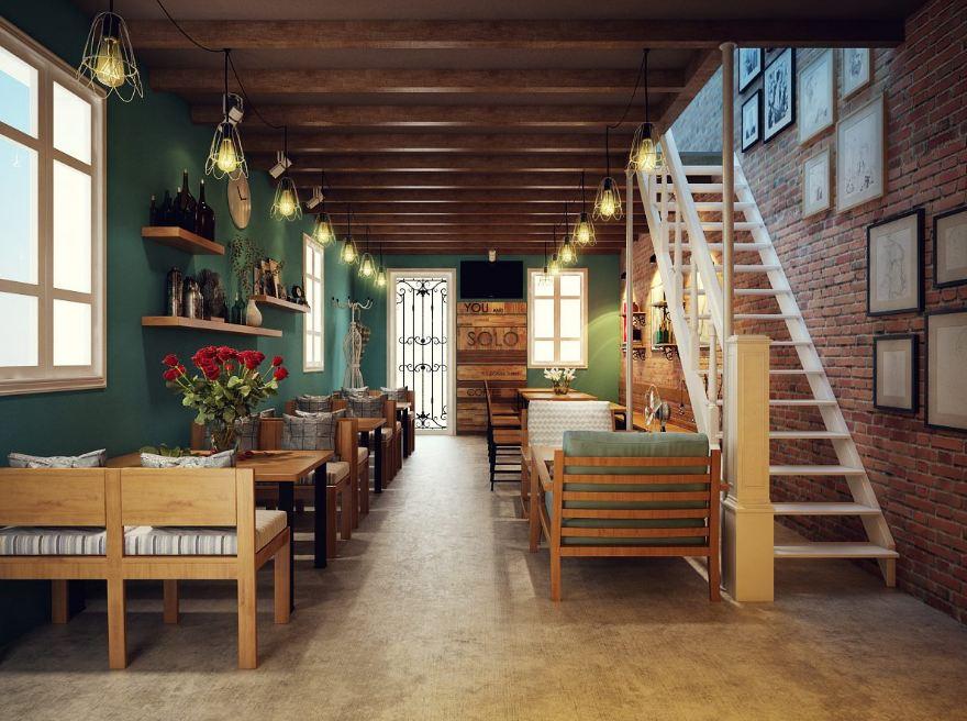 ban-ghe-go-quan-cafe-khong-gian-phong-sach