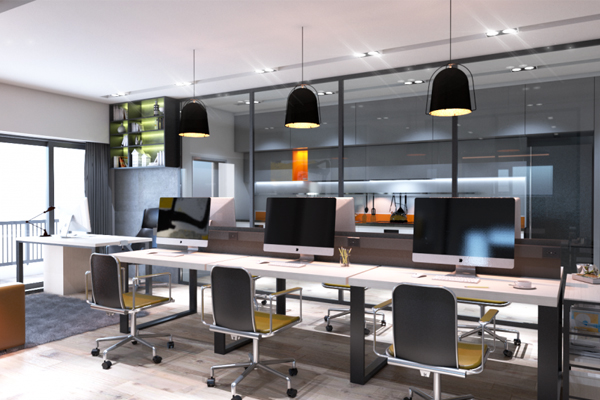 Thiết kế văn phòng làm việc yêu cầu công năng