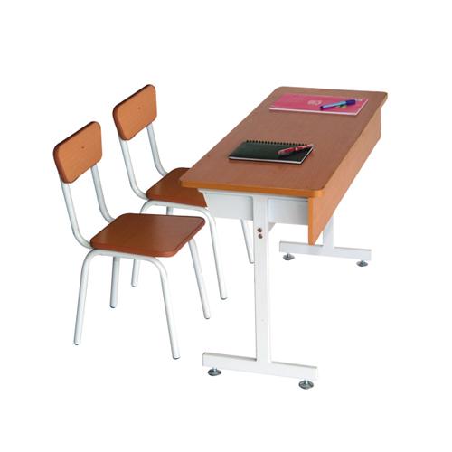 bàn ghế học sinh gỗ tự nhiên BHS101AG GHS101AG