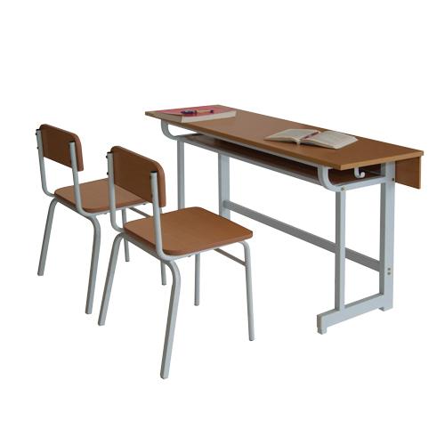 bàn ghế học sinh gỗ tự nhiên BHS102AG GHS102AG