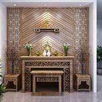 cách đặt bàn thờ trong nhà chung cư