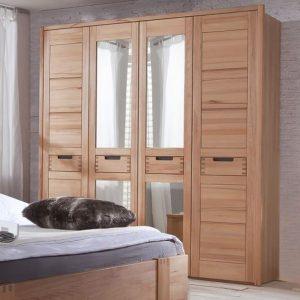 tủ gỗ tự nhiên 4 buồng