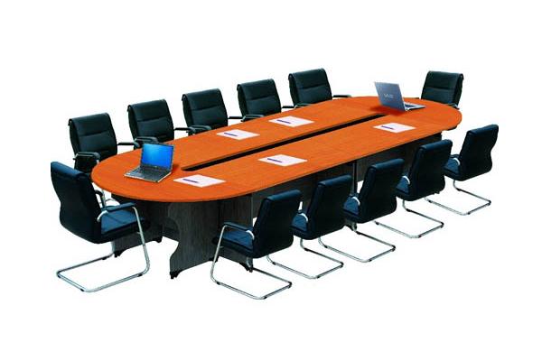 báo giá bàn ghế phòng họp 12 người NTH4315