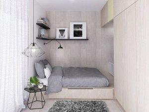 cách sắp xếp phòng ngủ 3m2