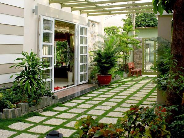 thiết kế nhà có không gian xanh