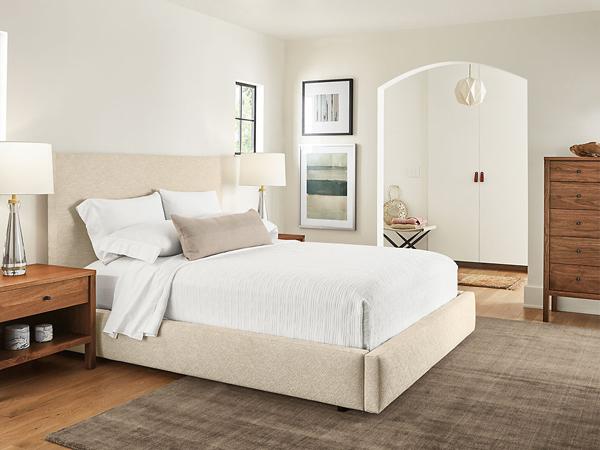 thiết kế phòng ngủ nhỏ 9m2 tối giản