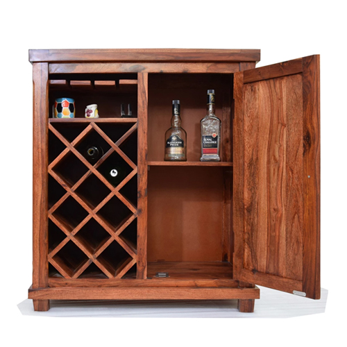 mẫu tủ rượu gỗ tự nhiên đẹp từ gỗ hương