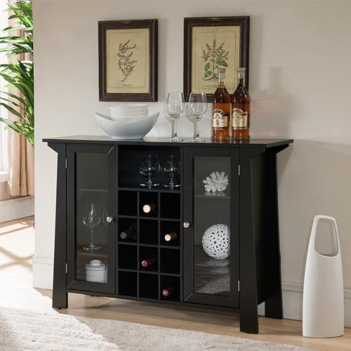 tủ rượu gỗ gụ