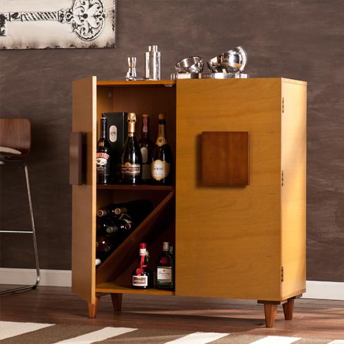 Tủ rượu gỗ gõ đỏ