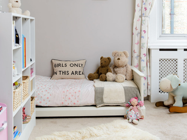 phòng ngủ 3x4m cho bé
