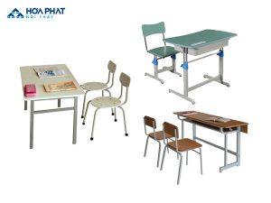 bàn ghế học sinh hòa phát tại hà nội