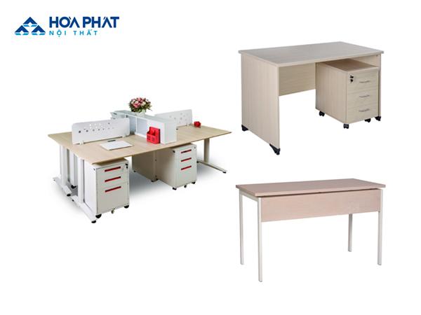bàn gỗ ép hòa phát