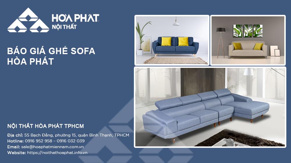 Báo giá Ghế sofa Hòa Phát