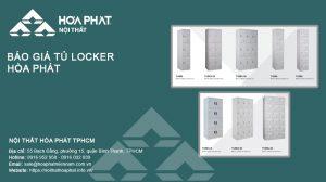 Báo giá Tủ locker Hòa Phát