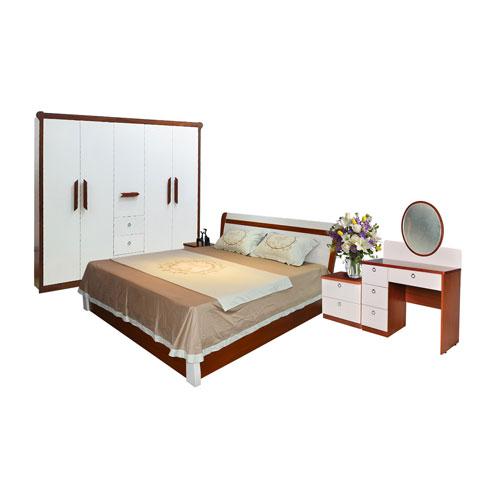 Bộ Giường Tủ Phòng Ngủ Hòa Phát 402