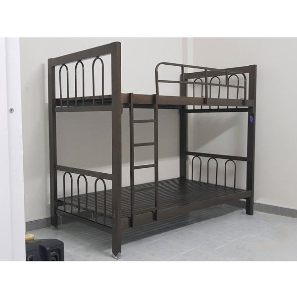 giường sắt 2 tầng hòa phát